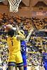 WVU Men's Basketball action VS Kansas February 12, 2020. (WVU Photo/Greg Ellis)