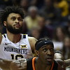 WVU Men's Basketball  action vs Oklahoma State February 18, 2020. (WVU Photo/Greg Ellis)