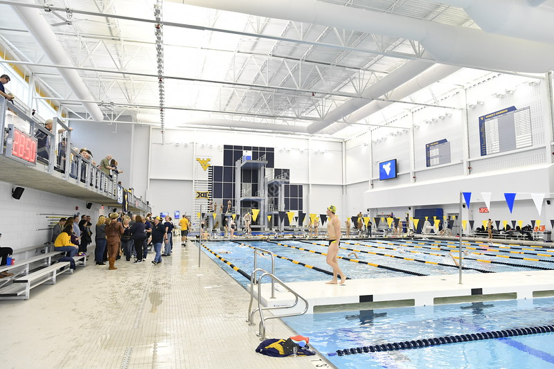 WVU Men and Women Swimming and Diving teams impressed visitors, each team taking home a win against George Washington at the newly constructed Aquatic Center at Mylan Park in Morgantown, WV. Parents attended the special Senior Day event, where the last-year students were commended for their achievements on February 1, 2019.