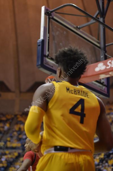 WVU Men's Basketball took on Texas Tech on January 11, 2020 in the Coliseum. (WVU Photo/Parker Sheppard)