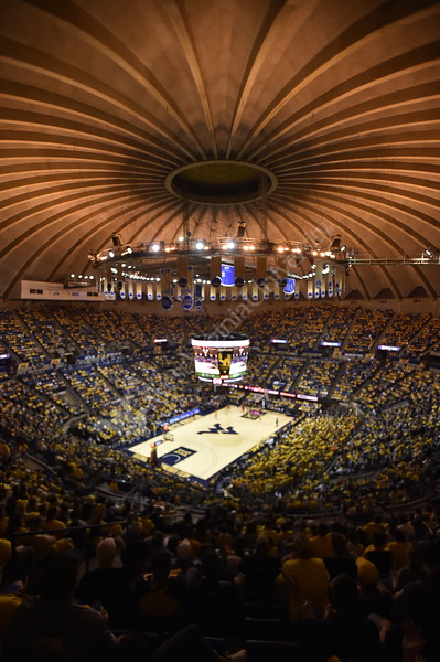 WVU Men's Basketball took on Texas Tech on January 11, 2020 in the Coliseum. (WVU Photo/Parker Sheppard)