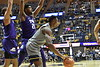 WVU Men's Basketball action vs TCU January 14, 2020. (WVU Photo/Greg Ellis)