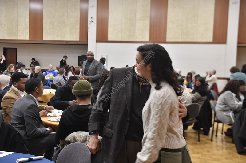 The Center for Black Culture and Research holds their 25th Anniversary MLK Breakfast at the Mountainlair January 20th, 2020.  (WVU Photo/Brian Persinger)