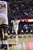 WVU Men's Basketball took on Texas on January 20, 2020 in the Coliseum. (WVU Photo/Parker Sheppard)