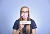 Emily DeWitt, APRN poses for a portrait at the HSC studio July 7, 2020. (WVU Photo/Greg Ellis)