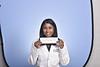 Priya Arumuganathan poses for their Emergency Medicine Portrait at the HSC studio July 30, 2020. (WVU Photo/Greg Ellis)