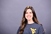WVU Visitor Center Tour Guide poses for a portrait at the OWF studio, October 12, 2020. (WVU Photo/Greg Ellis)