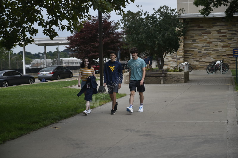 Photos of students attending the Honors Retreat on Evansdale taken on August 15, 2021. (WVU Photo/Parker Sheppard)
