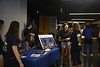 Photos of students attending Movie Fest at the Coliseum on August 15, 2021. (WVU Photo/Parker Sheppard)