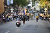 West Virginia University and Community Members gather for the Homecoming Parade in downtown Morgantown Friday, October 1, 2021. (WVU Photo/David Malecki)