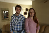 Siblings Maddi and Steve Neff will graduate from WVU this May. Maddi with a bachelors; Steve with a masters. The Neffs are profiled in the Meet the Grads series. Photo by Scott Lituchy / West Virginia University