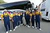 The Pride of West Virginia performs at River View High School. The WVU Marching Band made the trip to the McDowell County school on its way to Atlanta for the WVU vs. Alabama football game.  Photo by Scott Lituchy / West Virginia University