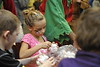 """Children enjoy a craft-filled event held by WVU. At the event, children were given the opportunity to speak to """"Santa"""" and mingle with Elves."""