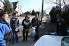 WVU students volunteered during a day of Service in Charleston Westside neighborhood.