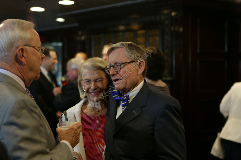 West Virginia University President Gordon Gee gives his State of the University address at the National Press Club in Washington, DC.  Photo by Scott Lituchy / West Virginia University