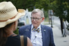 West Virginia University President Gordon Gee continues his 55 county tour. On this trip he visits Raleigh, Mercer and Summers counties. Photo by Scott Lituchy / West Virginia University