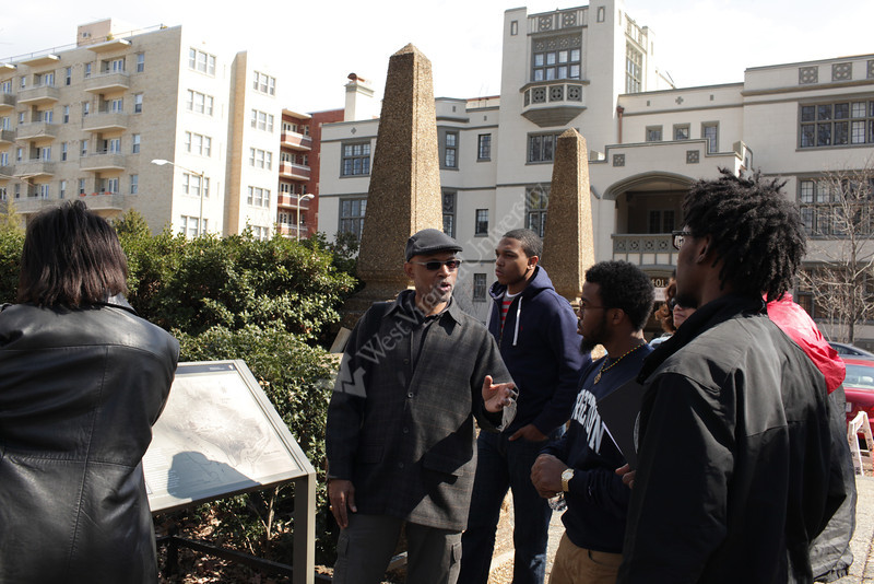 Center for Black Culture and Research spring research tour in Washington D.C.<br /> <br /> Photo by Raymond Thompson