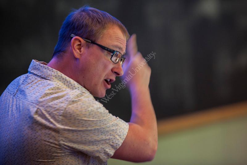 Joe Lebold lecturing on Regional Geology