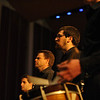 WVU's Annual Percussion Ensemble Concert took place at the Lyell B. Clay Concert Theatre in November of 2014. The concert featured several classic pieces, as well as newer, more challenging music for percussionists to perform, showcasing WVU's talented students.