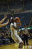 WVU Women's Basketball VS Fairfield November 2014 at the Coliseum.
