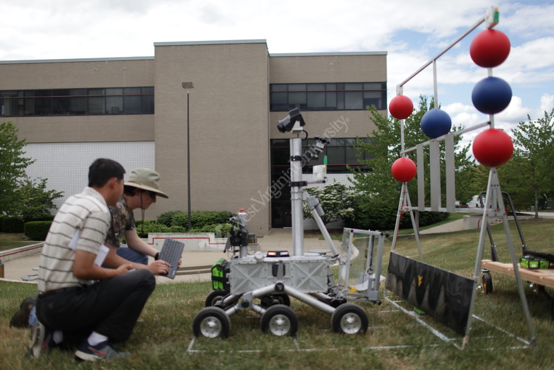WVU Nasa Robo-Ops Competition Prep <br /> WVU Photo/Raymond Thompson