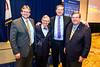 L2R - Brian Anderson, Gordon Gee, Eric Spiegel, David Hardesty