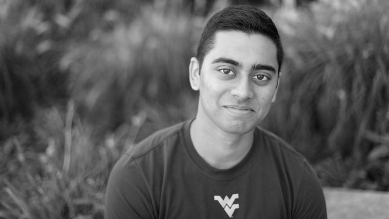 WVU student Faiyaz Faruque. This portrait is for the Title IX It's On Us video.  10/21/2015 Photo by Scott Lituchy / West Virginia University