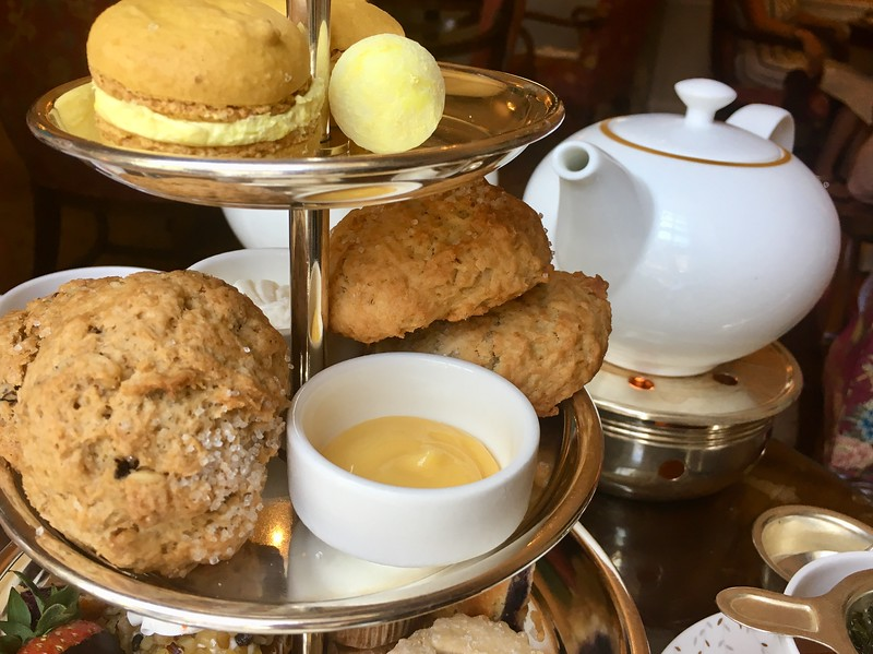 afternoon tea service at Taj Boston in Boston, Massachusetts