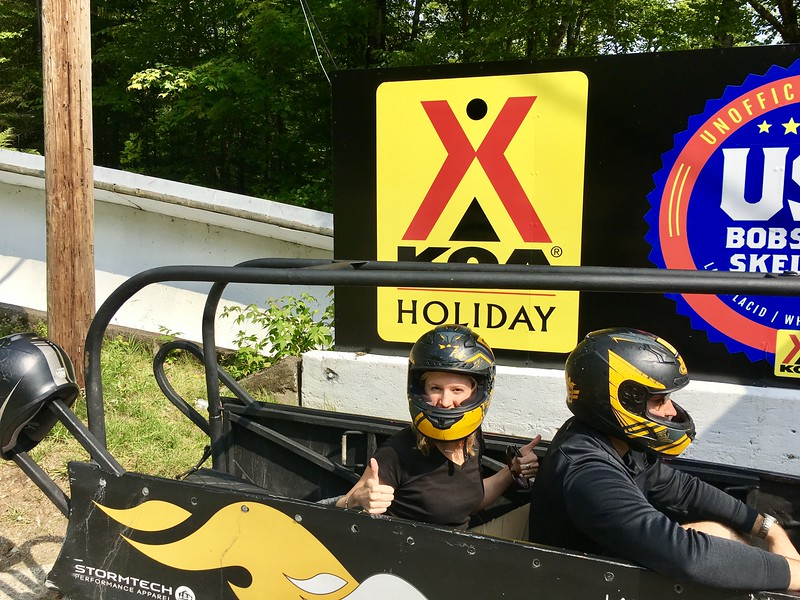Lake Placid Bobsled Experience in Lake Placid, New York