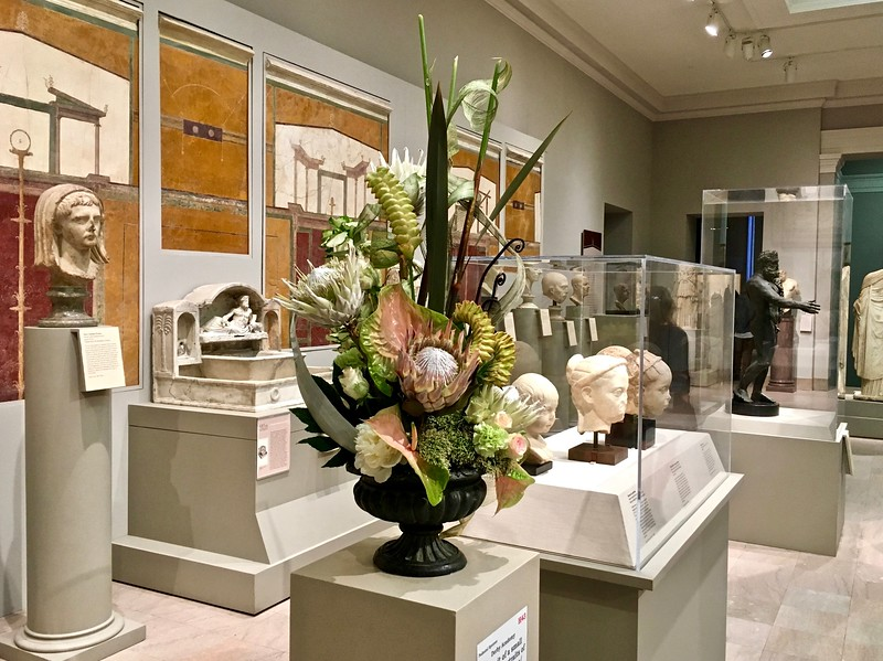 Art in Bloom at the Museum of Fine Arts in Boston, Massachusetts