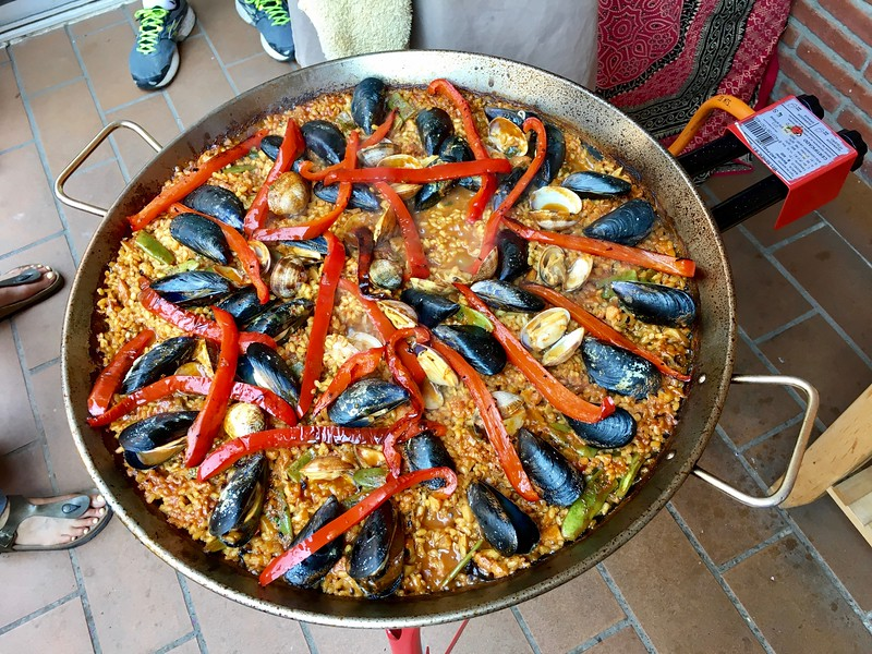 paella made with Barcelona Slow Travel
