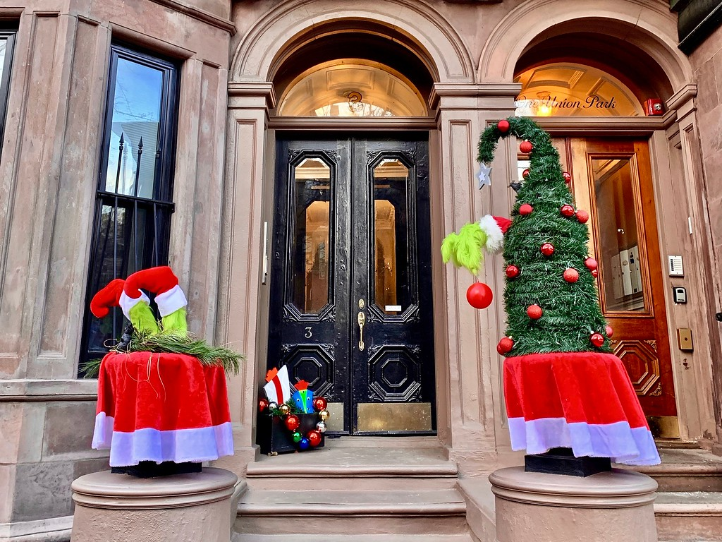 a festive home in the South End of Boston, Massachusetts