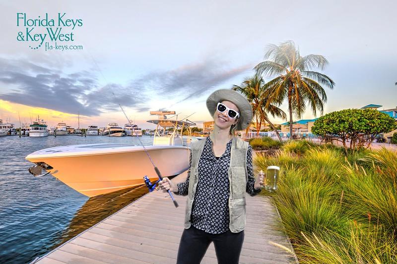 Boston travel blogger Brianne Miers at the Boston Travel & Adventure Show