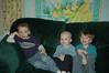 Connor, Alex & Chandler, Jan '09. Alex still working on his Chemo.