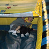 Connor & Alex go down the slide...FAST!