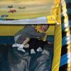 Connor & Alex go down the slide...FAST!
