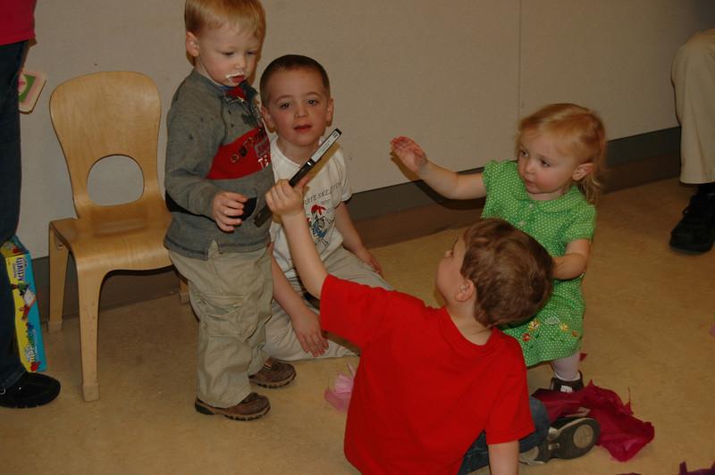 Alex shows Duncan & Connor the new movie Tessa got.