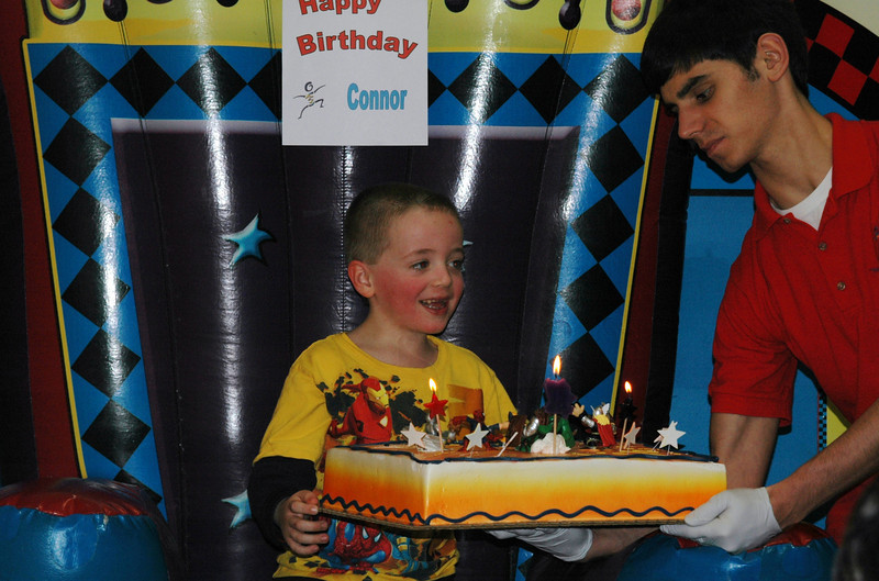 Connor with his cake!