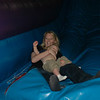 Svea & Lincoln go down the slide!!