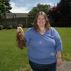 "Locks of Love donation of 13-14""! Official styling on Thursday!"