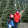 The boys with the tree. It was a bit chilly. :)
