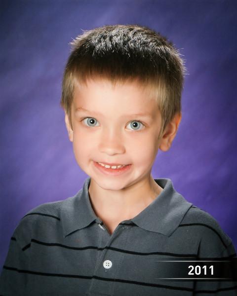 Chandler's 1st grade school picture