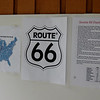 Route 66 map and trivia facts.