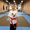 My Red Belt Kid! So proud of Chandler and all the hard work he's done in the last two years!