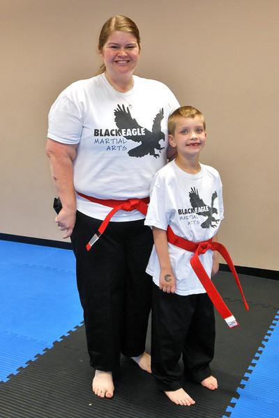 Officially Red Belts, Sept 2012! Only 1 more belt until Black!