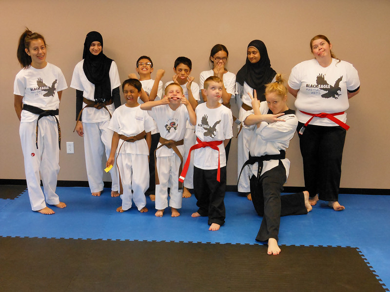 The Taekwondo Crew in silly mode!