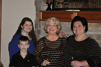 Thanksgiving with the Waker girls and Chandler!