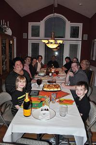 Thanksgiving Feast, 2013!
