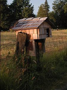 Bailey homestead, mailbox
