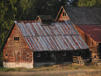 Bailey homestead, barn addition